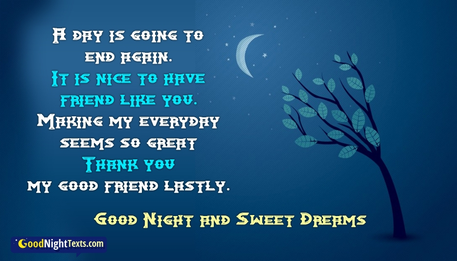 Good Night and Sweet Dreams @ Goodnighttexts.com