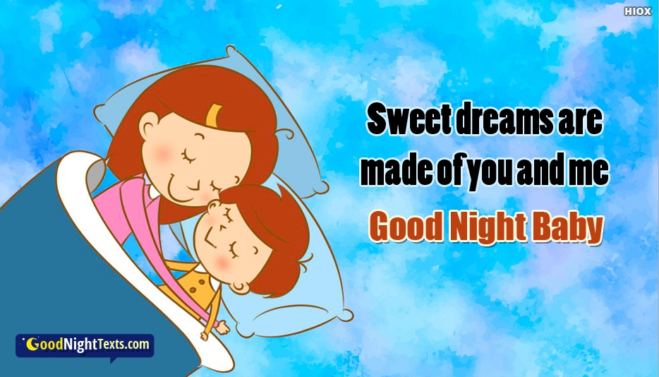 Good Night Baby Quotes