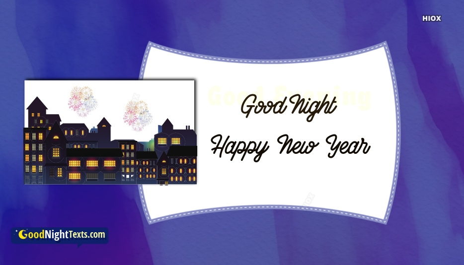 Good Night Happy New Year