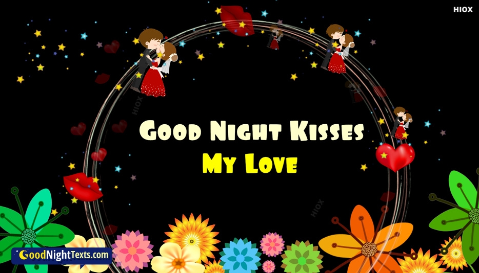 Good Night Texts for Kiss