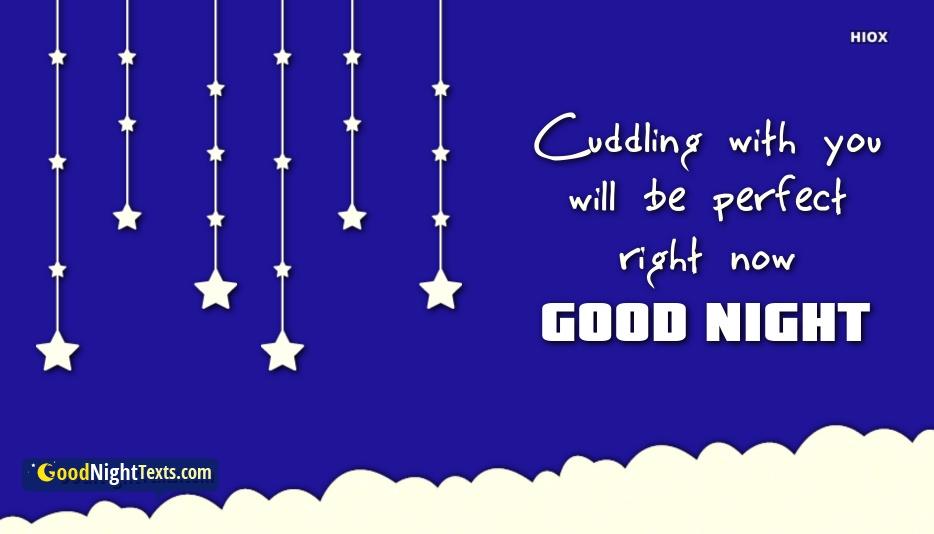 Romantic Good Night Text To My Man