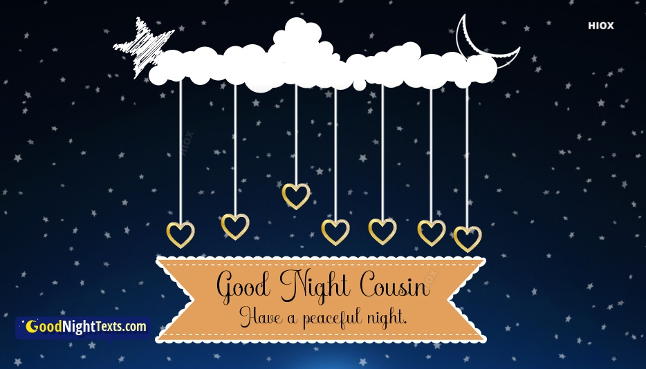Good Night Images For Cousin