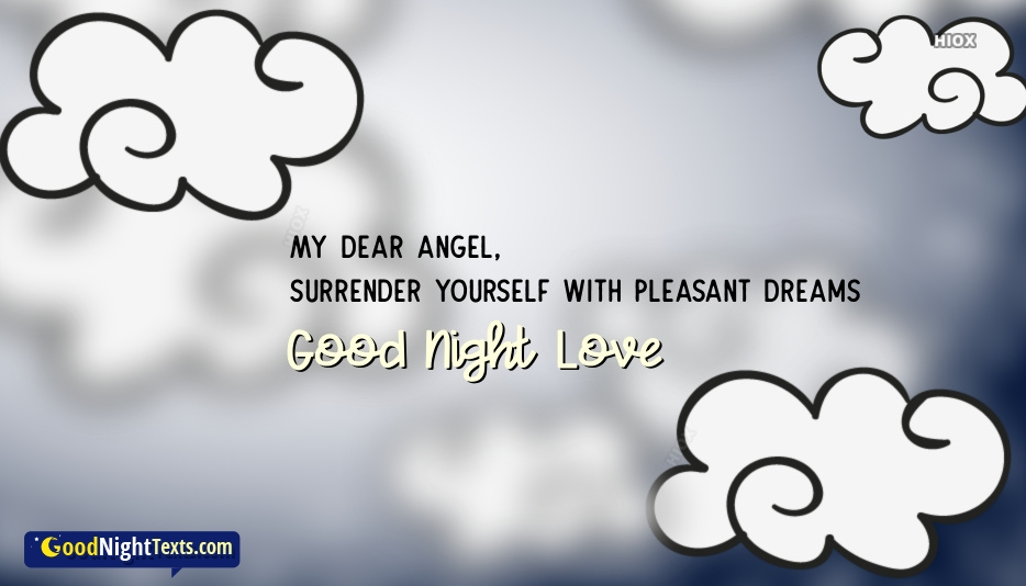 Good Night Texts for Sweet Angel