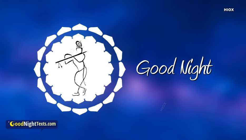 Good Night Messages Krishna