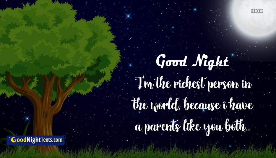 Good Night Texts for Parents