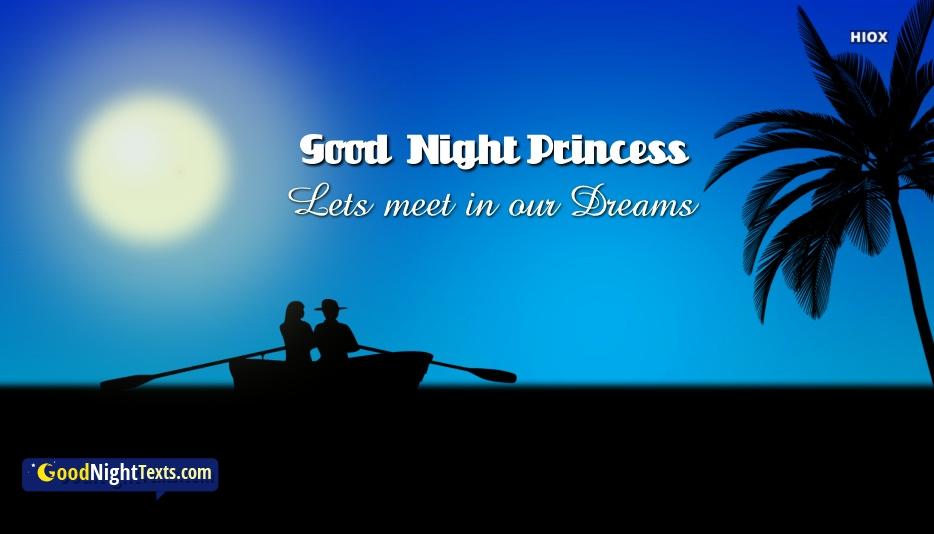 Good Night Messages Princess