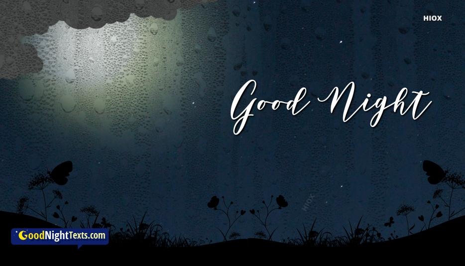 Good Night With Rain