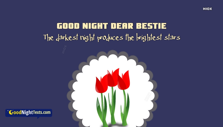 Good Night Messages Special Friend
