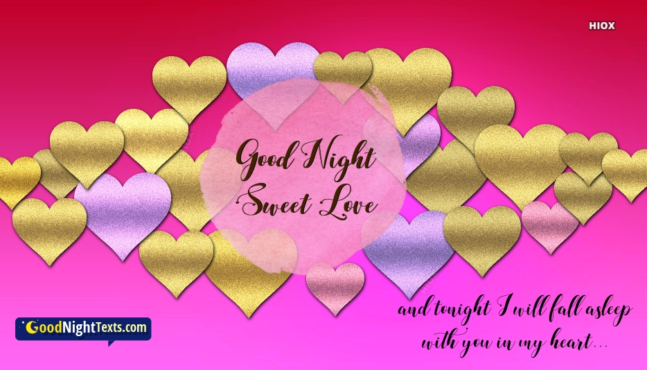Good Night Messages Sweet Love