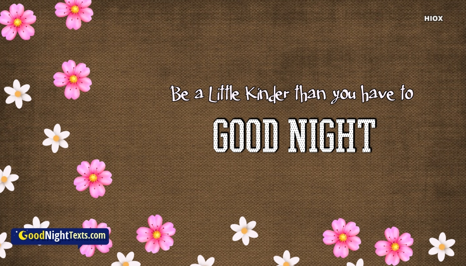 Good Night Messages Thoughtful