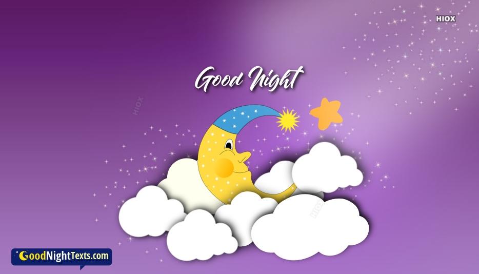 Good Night Texts for Beautiful Photos