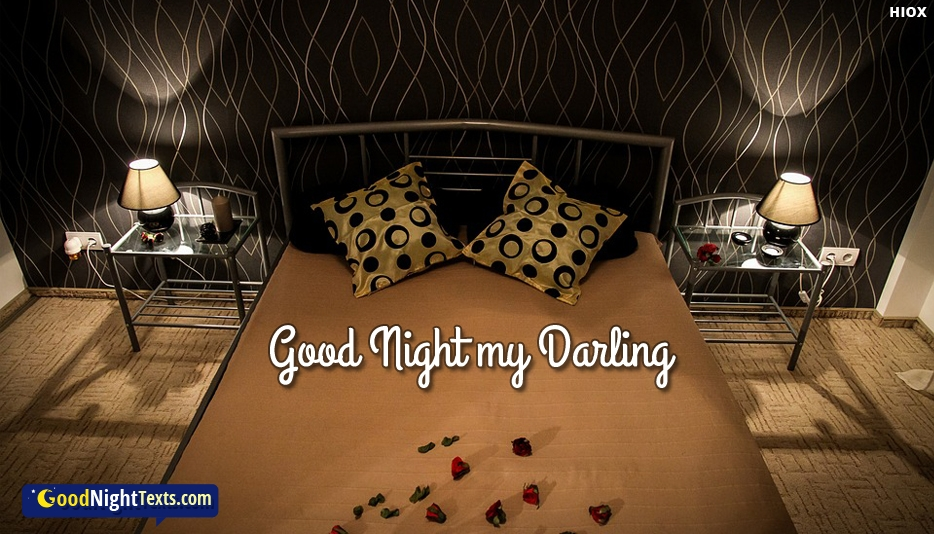 Good Night My Darling -  Good Night Texts for Darling