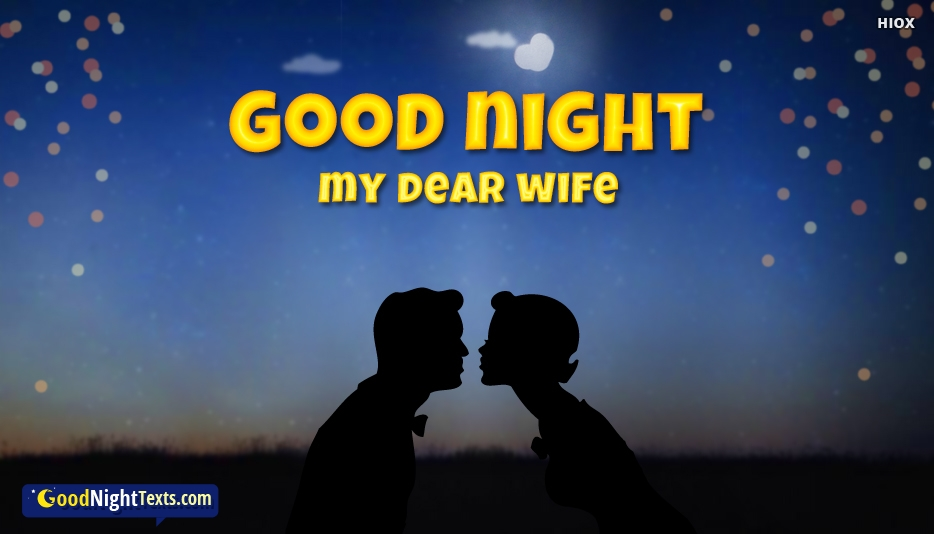 Good Night Texts for Wife