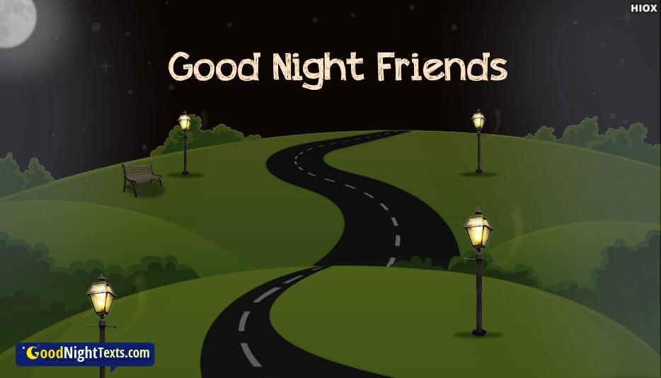 good night my best buddy