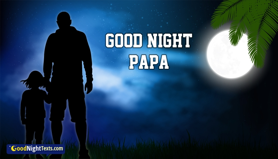 Good Night Daddy Images With Text Messages