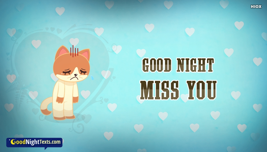 Good Night Sad Waiting Good Night Miss You At Goodnighttextscom