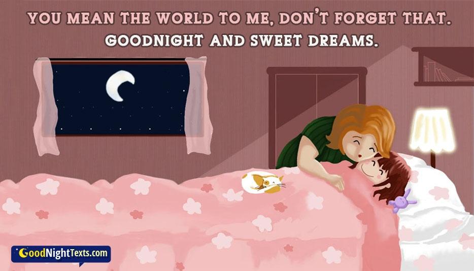 Good Night Sweet Dreams @ Goodnighttexts.com