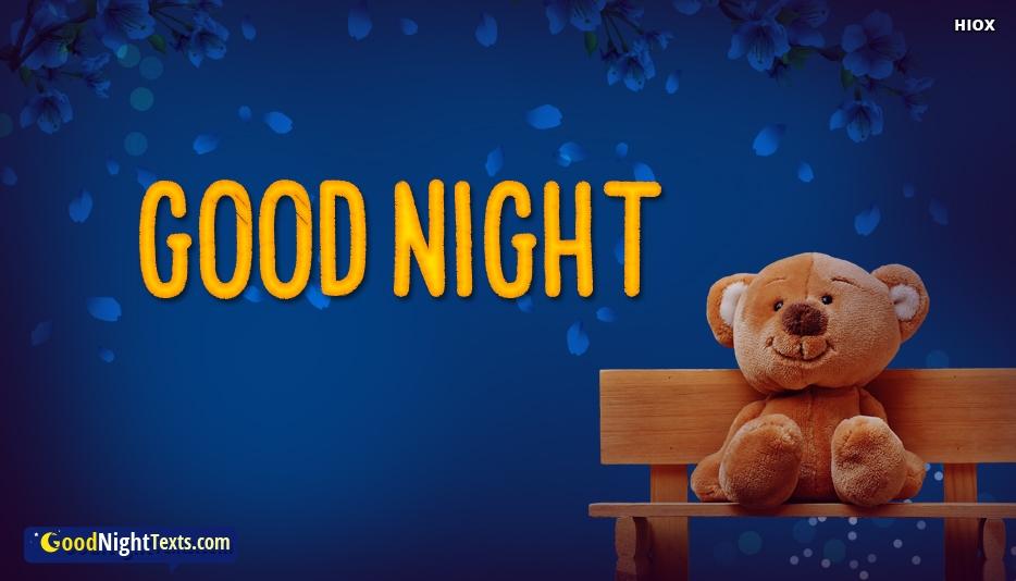Good Night Texts for Teddy