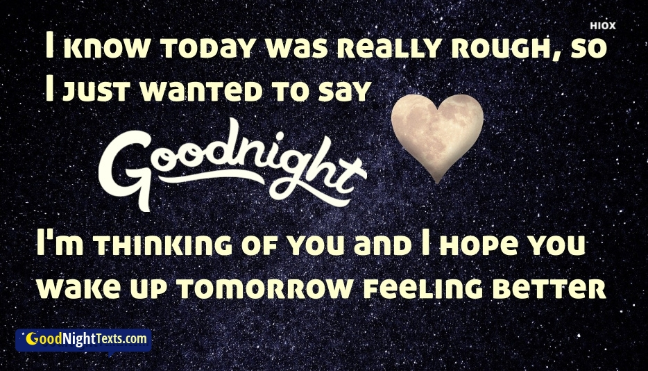 Good Night Text For Crush