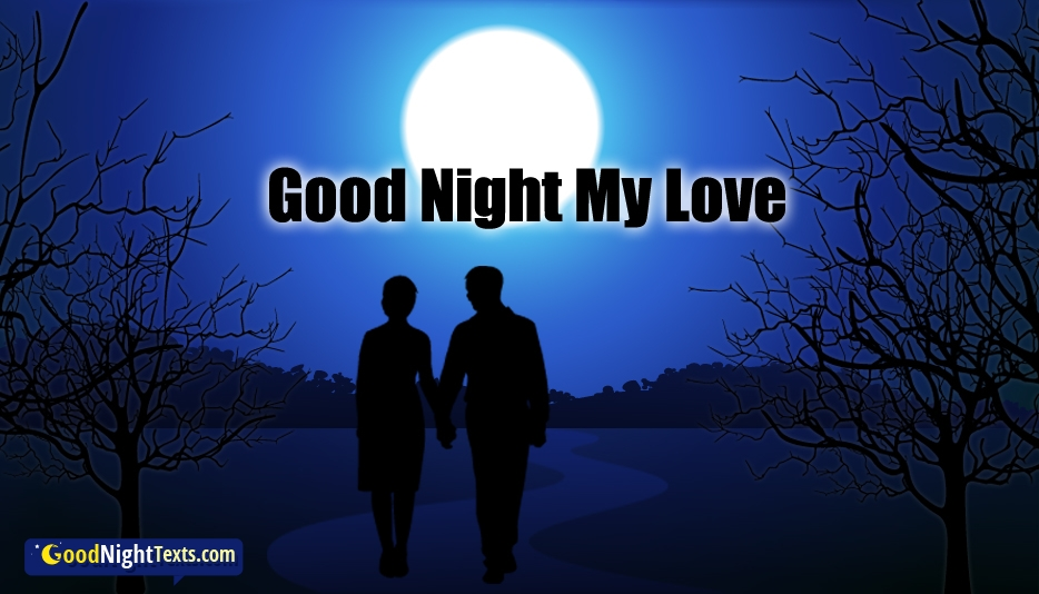 Good Night Text for Love - Good Night Text Messages / SMS For Lover With Images