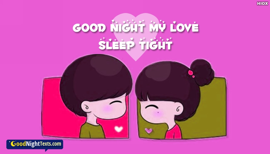 Good Night Text For Sweetest One - Good Night Text for Valentine