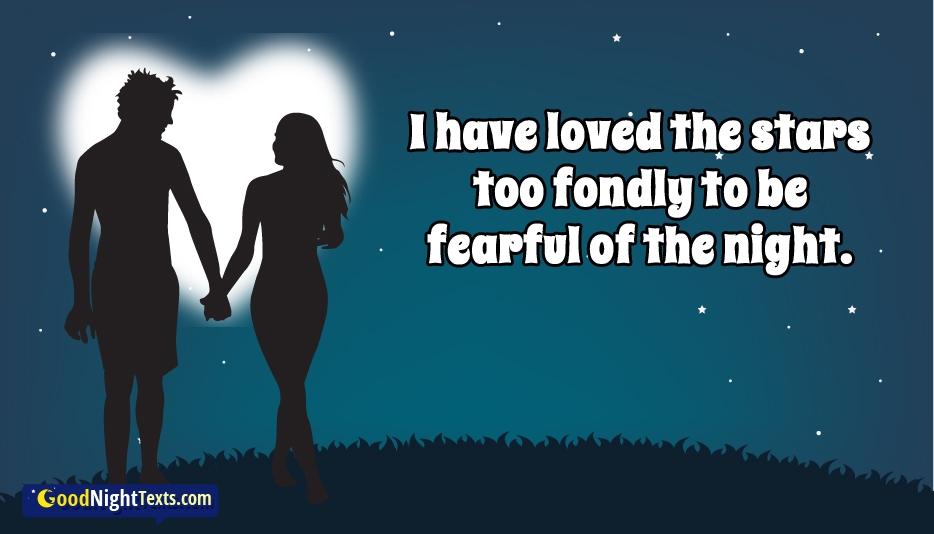 Good Night Text to Impress a Girl - Romantic Good Night Texts