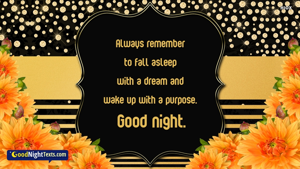 Good Night Wishes For Dreams