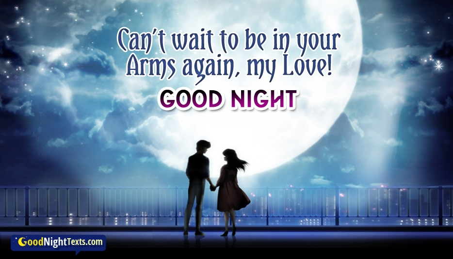 Goodnight My Love At Goodnighttextscom