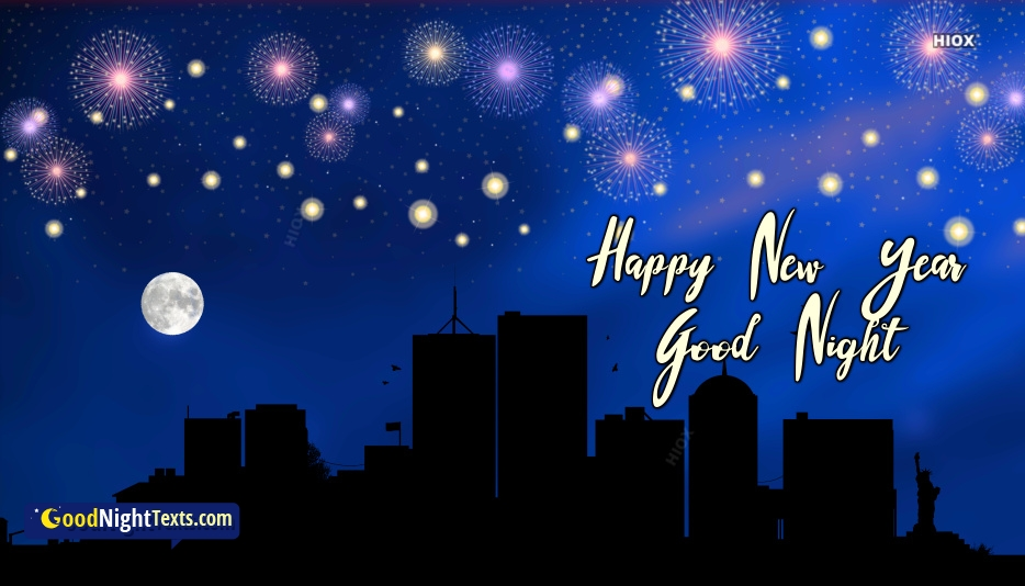 Happy New Year Good Night Images