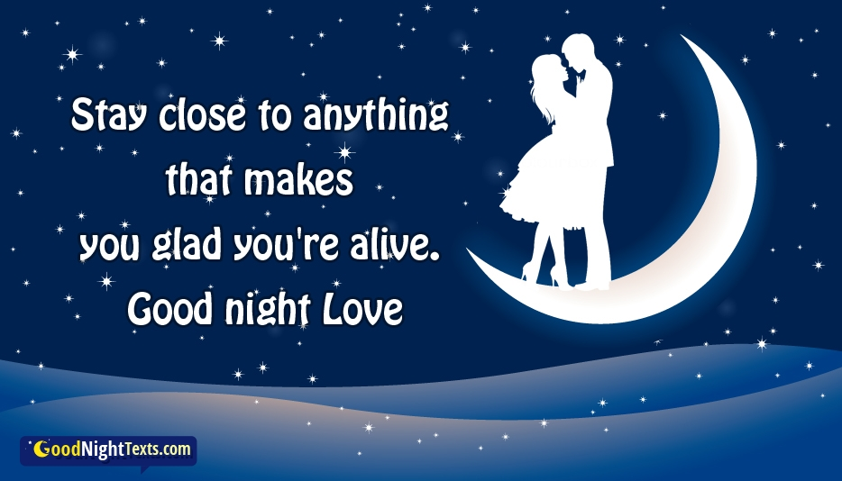 Good Night Texts for Girlfriend