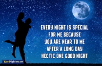 Every Night Is Special For Me