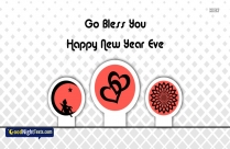 God Bless You Happy New Year Eve