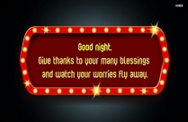 Wishes For Good Night
