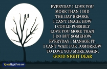 Good Night Dear