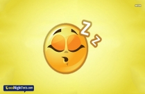 Good Night Emoji