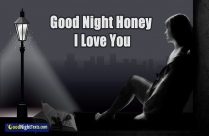 Good Night. I Love You