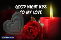 Good Night Kiss To My Love