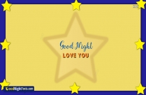 Good Night Love You