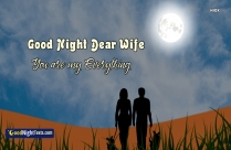 Good Night Message For Lovely Wife
