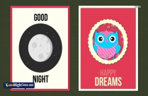 Good Night Messages Animation