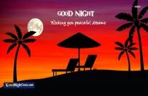 Rainy Good Night Message
