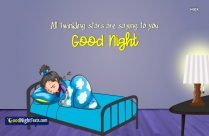 Good Night Messages Child