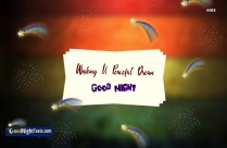 Funny Good Night Message For Friends