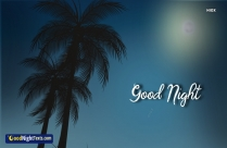 Good Night Messages Greeting
