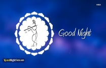 Good Night Messages Krishna