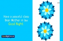 Good Night Messages for Mother In Law