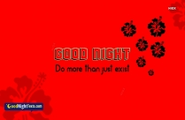Good Night Messages Quote