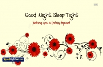 Good Night Messages Sleep Tight