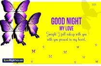 Good Night My Love Message