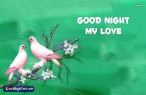 Good Night Messages For Him